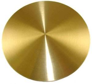 "German Style Bob -5-1/8"" Brass(130mm) BrassWith 3/4"" Rear Slot - Image 1"