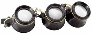 3-Piece Clip-On Eye Loupe Assortment - Image 1
