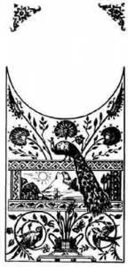"Ansonia KG-314 Silver Kitchen Clock Glass. Image size 6"" x 7-3/8"" - Image 1"