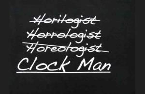 Clock Man T-Shirt - Size XL - Image 1