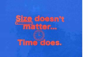 Size Doesn't Matter T-Shirt - Size XL