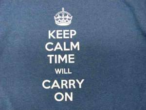 Keep Calm T-Shirt - Size Large - Image 1