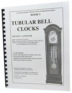 Tubular Bell Clocks by Steven G. Conover