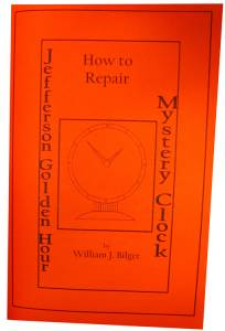 How To  Repair A Jefferson Golden Hour Mystery Clock by William Bilger