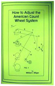 How to Adjust the American Count Wheel System by William Bilger - Image 1