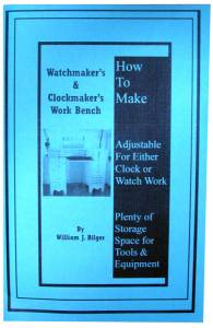 How To Make A Watchmaker's & Clockmaker's Work Bench by William Bilger - Image 1