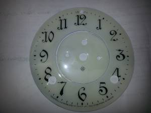 CHINA-12 - 2 Piece Porcelain Arabic Dial