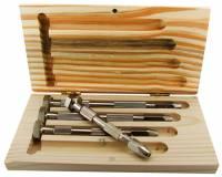Parts Holders, Vises, Clamps & Pin Vises - Pin Vises - 4-Pc. Swivel Head Pin Vise Set