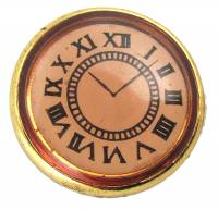 Novelty Items - Clock Face Button