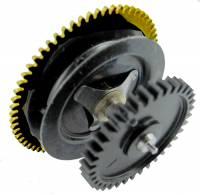 "Wheels & Wheel Blanks, Motion Works, Fans & Relate - Cuckoo Ratchet Wheels & Components - Timesaver - Regula #25 Time Ratchet Wheel (CCW) 9-1/4"" Pendulum Drop"