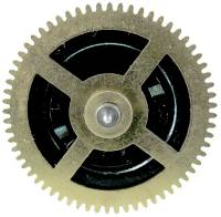 Wheels & Wheel Blanks, Motion Works, Fans & Relate - Cuckoo Ratchet Wheels & Components - Regula #34 Music Ratchet Wheel (CCW)