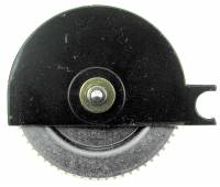 Wheels & Wheel Blanks, Motion Works, Fans & Relate - Cuckoo Ratchet Wheels & Components - Regula #34 Time Ratchet Wheel With Chain Guard (CW)