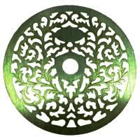 Clock Repair & Replacement Parts - Case Parts - Etched Silver Case Applique