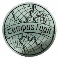 Clock Repair & Replacement Parts - Case Parts - Tempus Fugit Case Applique