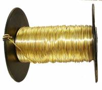 "Clock Repair & Replacement Parts - Raw Materials - Soft Brass Wire - 26 Gauge (.016"")"
