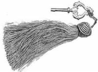 Case Parts - Tassels - Grey Tassel
