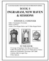 Books - Clocks: Repair & How-To Books - Ingraham, New Haven & Sessions by Steven Conover