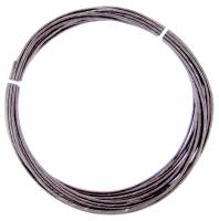 Weight Cord & Rope, Wire Cable & Guards, & Gut - Clock Gut - 0.50mm x 5 Meter Blackened Gut