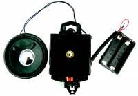 Quartz Movements, Hardware and Tools - Quartz Movements with Pendulums - Timesaver - Hermle #2214 Quartz Westminster/Bim-Bam Pendulum Movement