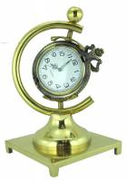 Display Items - CAMBR-88 - Hunting Case Brass Pocket Watch Display