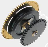 Wheels & Wheel Blanks, Motion Works, Fans & Relate - Cuckoo Ratchet Wheels & Components - Regula #35 Time Ratchet Wheel for Cuckoo Movement