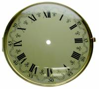 "Clock Repair & Replacement Parts - Dials & Related - 8-5/8"""" (220mm) German Bezel, Dial, Glass Assembly"