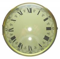 "Clock Repair & Replacement Parts - Dials & Related - 7-13/16"" (200mm) German Bezel, Dial, Glass Assembly"