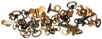 Clock Repair & Replacement Parts - 50-Piece Small Clock Key Assortment