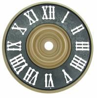 """Clock Repair & Replacement Parts - 4-1/4"""" (115mm) Plastic Cuckoo Dial"""