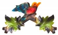 "Cuckoo Clock Parts - Cuckoo Clock Tops & Mounting Brackets - 12"" Multicolor Cuckoo Top"