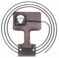 Bells,Gongs,Chime Rods,Hammers & Related - Gongs & Bases - Timesaver - 80mm Gong & Base