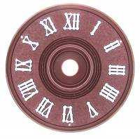 "Dials & Related - Plastic dials - 3-1/8"" (80mm) Plastic Cuckoo Dial"