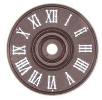 """Clock Repair & Replacement Parts - 4"""" (100mm) Plastic Cuckoo Dial"""
