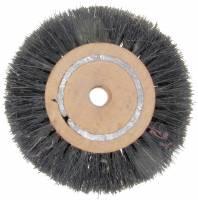 "General Purpose Tools, Equipment & Related Supplies - Brushes - 3"" Wood Hub Bristle Brush Wheel"