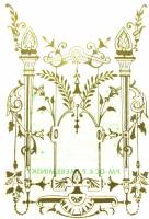 """Clock Repair & Replacement Parts - Transfers & Transfer Tools - Kitchen Clock Decal  6"""" x 8"""""""