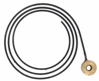 "Clock Repair & Replacement Parts - Bells,Gongs,Chime Rods,Hammers & Related - 2-3/4"" Flat Wire Gong"