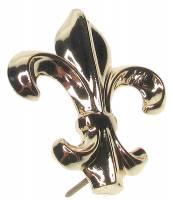 Case Parts - Decorative Appliques - Cast Fleur de Lys Case Ornament