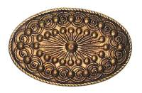 Case Parts - Decorative Appliques - Oval Case Ornament