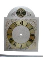 Clock Repair & Replacement Parts - Dials & Related - Silver & BrassTempus Fugit Arch Dial - 250mm x 250mm x 330mm