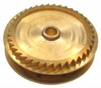 Wheels & Wheel Blanks, Motion Works, Fans & Relate - Ratchet Wheels & Intermediate Wheels - Chain Gear for German Clocks    51.0 x 46.0mm   Winds Counterclockwise