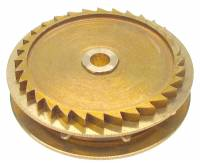 Wheels & Wheel Blanks, Motion Works, Fans & Relate - Ratchet Wheels & Intermediate Wheels - Chain Gear for German Clocks    51.0 x 46.0mm Winds Clockwise