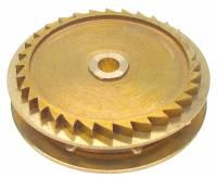 Wheels & Wheel Blanks, Motion Works, Fans & Relate - Ratchet Wheels & Intermediate Wheels - Chain Gear for German Clocks    51.0 x 46.0mm Winds Clockwise