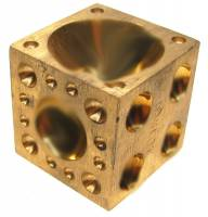 Watch Parts & Tools - India Made 50mm Brass Dapping Block