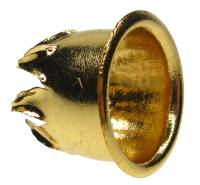 Clock Repair & Replacement Parts - Fasteners - Brass Keyhole Grommet