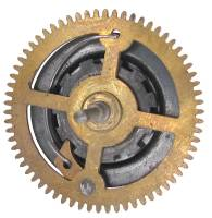 Wheels & Wheel Blanks, Motion Works, Fans & Relate - Cuckoo Ratchet Wheels & Components - Ratcheting Chain Wheel  35.0mm x 66 Teeth x 39.5mm Arbor