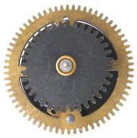 Clock Repair & Replacement Parts - Ratcheting Chain Wheel  35.0mm x 66 Teeth x 27.5mm Arbor