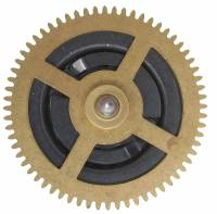 Clock Repair & Replacement Parts - Ratcheting Chain Wheel  33.0mm x 64 Teeth x 23.0mm Arbor