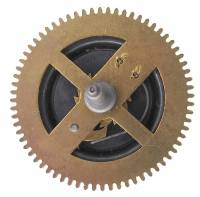Wheels & Wheel Blanks, Motion Works, Fans & Relate - Cuckoo Ratchet Wheels & Components - Ratcheting Chain Wheel  35.0mm x 68 Teeth x 26.5mm Arbor