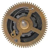 Clock Repair & Replacement Parts - Ratcheting Chain Wheel  35.0mm x 66 Teeth x 39.5mm Arbor