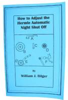 New Parts - How To Adjust Hermle Auto Night Shut Off by William Bilger